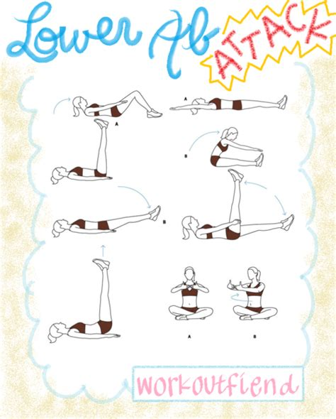 lower ab workouts for at home with pictures