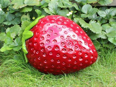 fraise fruits d 233 coratifs d 233 coration du jardin faux fruits
