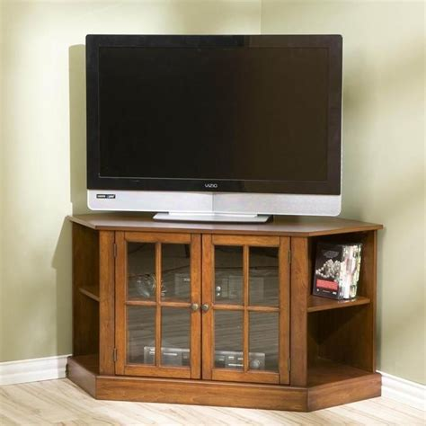 corner media cabinets flat screen tvs thomas corner flat panel tv stand house ideas