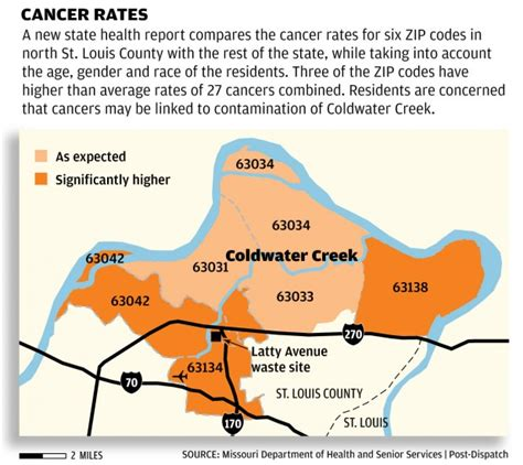 coldwater creek map another lawsuit claims cancers caused by coldwater creek