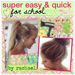Quick Easy Hairstyle by Easy Hairstyles For Quality Hair Accessories