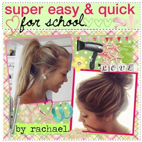 quick easy hairstyles for short hair for school 23 beautiful hairstyles for school styles weekly
