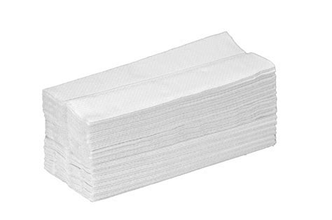 Paper Towel Folding - white soft c fold towels