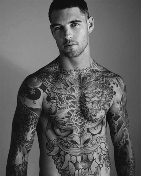 hot guy tattoos with tattoos on