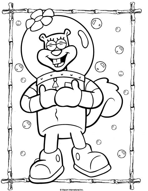 spongebob 18 coloringcolor com