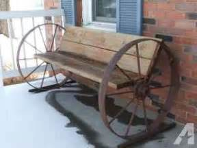 wagon wheel bench for sale wagon wheel benches on sale expired ad buy with payon