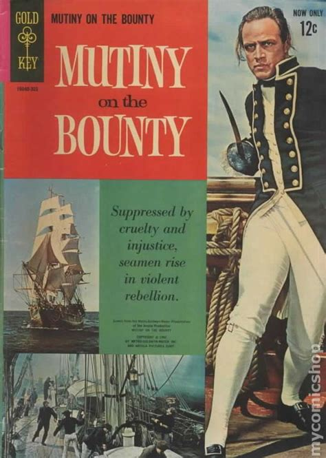 film with cartoon books mutiny on the bounty 1962 movie comics comic books