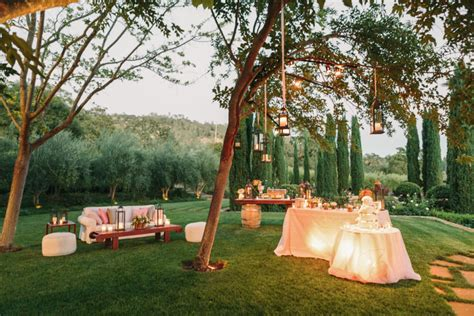backyard wedding centerpieces backyard wedding decoration ideas
