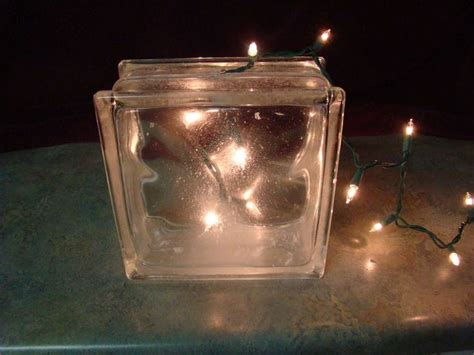 Lighted Glass Block by 17 Best Ideas About Lighted Glass Blocks On