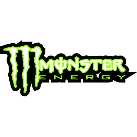Monster Energy Yellow Sticker by Sticker Et Autocollant Monster Energy New Black