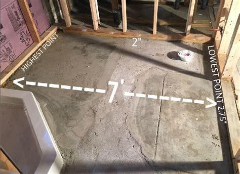 how to level a bathroom floor need to level basement bathroom floor flooring diy