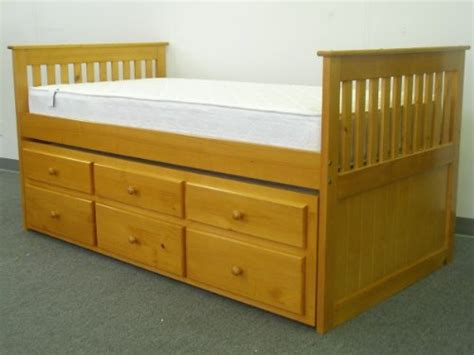 twin captain bed with trundle and 3 drawers storage bedz king captains twin bed with twin trundle and 3