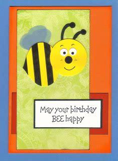 J 60367 Bee Set Enjoy curios crafter tash punch cards