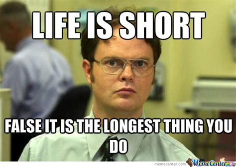 Life Is Short Meme - life is short by supermariosuperluigi meme center