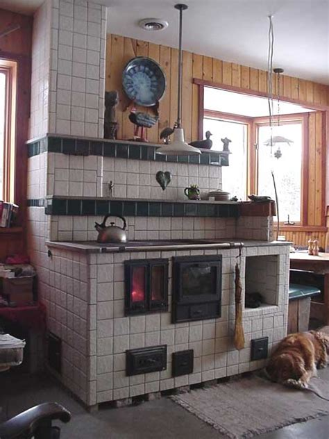 Concrete Kitchen Design by Masonry Heater Portfolio Gimme Shelter Construction