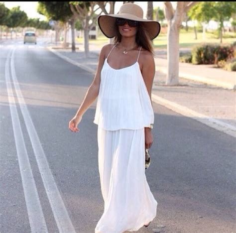 Maxi Dress By Rafif Fashion dress dress white maxi summer zara zara draped