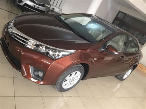 New color from Toyota Indus is on display at a dealership