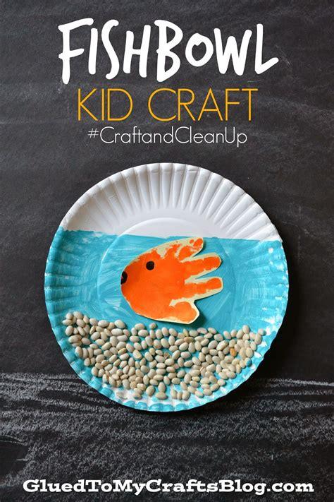 Paper Fish Bowl Craft - fishbowl kid craft craftandcleanup