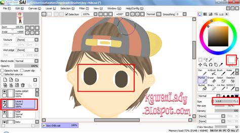 how to make doodle using paint tool sai draw doodle eye using paint tool sai kawaii