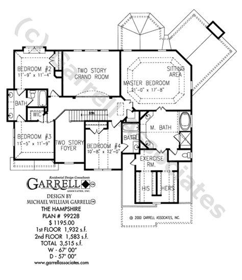 garrell floor plans hshire house plan house plans by garrell associates inc