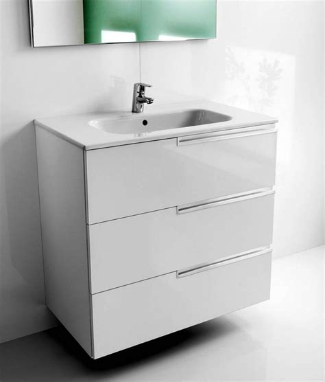 Vanity Units With Drawers For Bathroom Roca N 3 Drawer Vanity Unit With Basin Uk Bathrooms