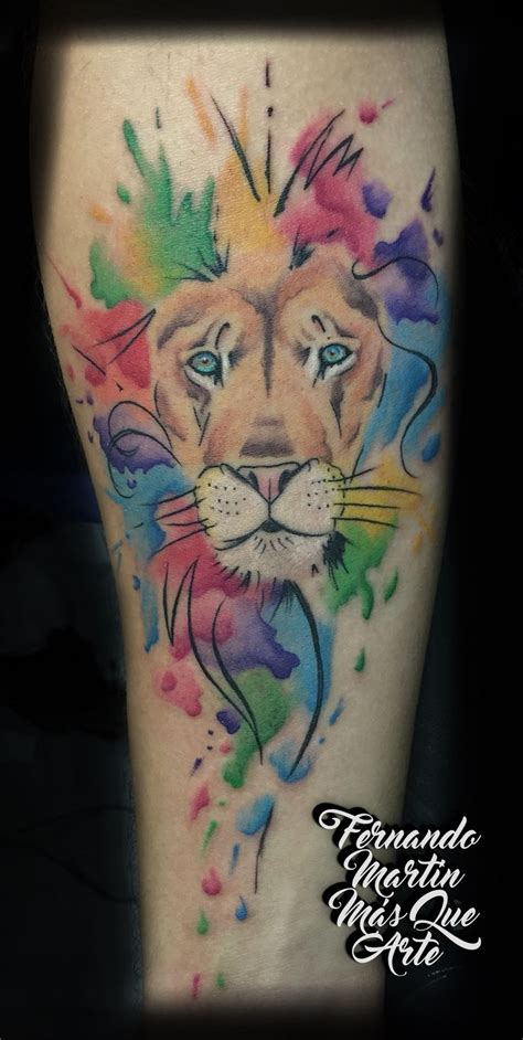 watercolor tattoo lion 1000 ideas about watercolor on