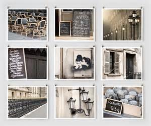 Fine Art Photography Paris Gallery Wall Art Prints Black Wall Decor Photography