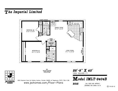imlt 46412b mobile home floor plan ocala custom homes imlt 3404b mobile home floor plan ocala custom homes