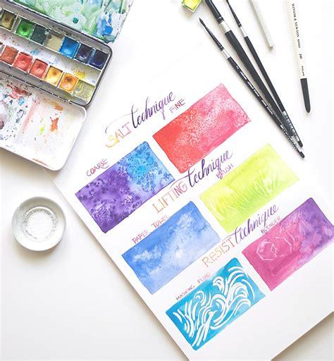 watercolor tutorial for beginners monochrome technique easy beginner watercolor techniques inkstruck studio