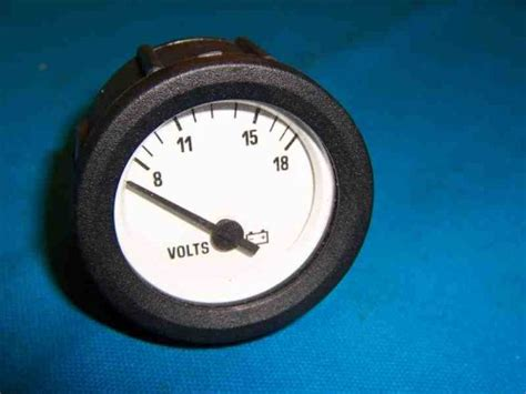 omc boat brands new omc boat volt meter gage part 175597 marine