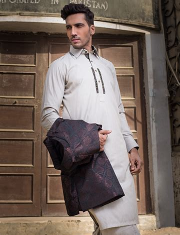 outfittrends latest shalwar kameez with coat style formal menswear dresses 2016 17 kurtas waist coats