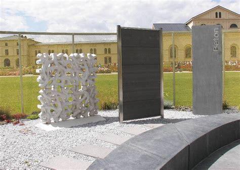 Sichtschutz Garten Beton by Sichtschutz Aus Beton Teil 1
