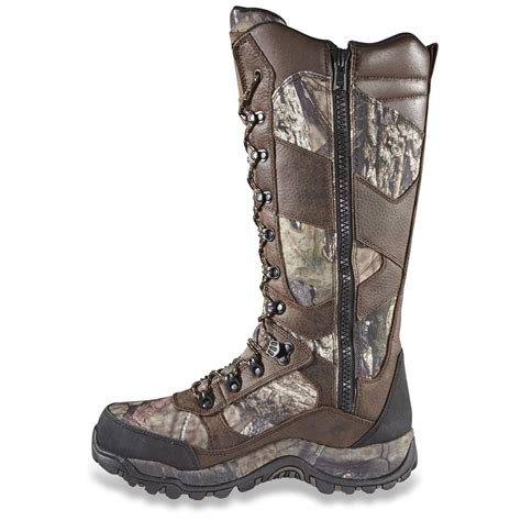 guide gear s pursuit camo 16 quot waterproof snake boots