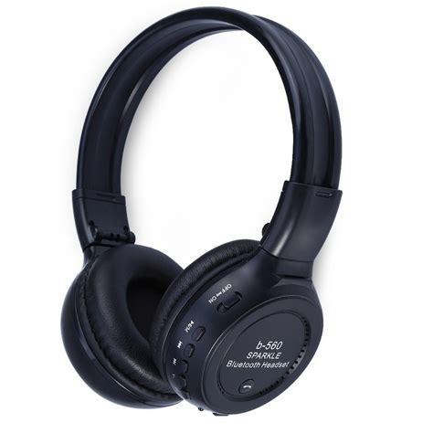 Headset Bluetooth Bass best gift original universal led wireless