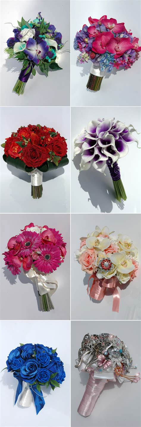 How To Make Wedding Bouquets Using Artificial Flowers by Wedding Bouquets And Buttonholes Confetti Co Uk