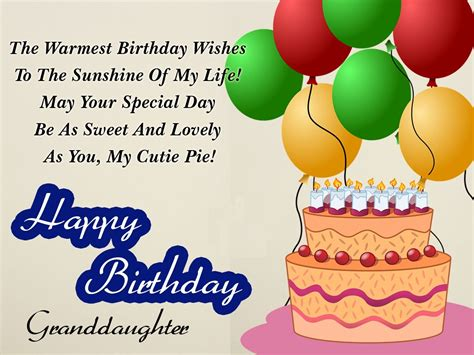 Happy Birthday Wishes To My Granddaughter Birthday Wishes For Granddaughter Granddaughter S Birthday