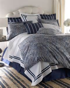 Navy Blue Quilts And Coverlets Legacy Home Blue Paddock Shawl Bed Linens King White