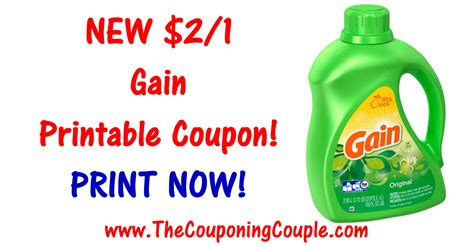 Printable Gain Coupons | new gain printable coupon print 2 1 coupon now