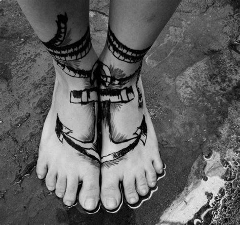 mens foot tattoos foot tattoos for design ideas for guys