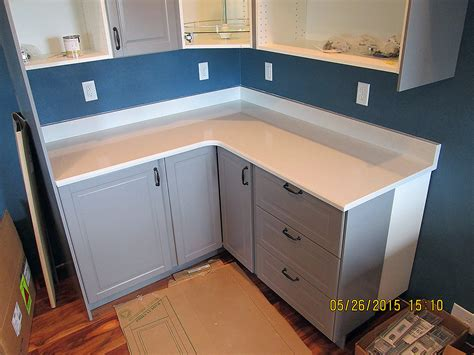quartz backsplash quartz kitchen countertop w bevel edge and custom