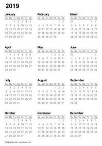 Calendar 2018 And 2019 Printable Free Printable Calendars And Planners 2017 2018 2019 2020