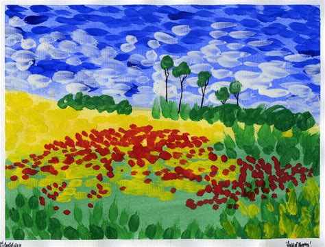 Landscape Ks1 That Artist In The Style Of Gogh Remembrance