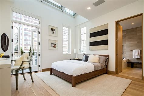 city style bedroom exclusive new york city penthouse blends tribeca design