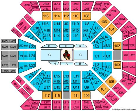 Grand Arena Floor Plan by Mgm Grand Garden Arena Seating Chart