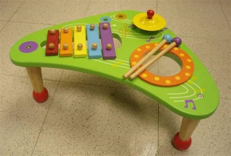 musical wooden table toys recalled by battat due to