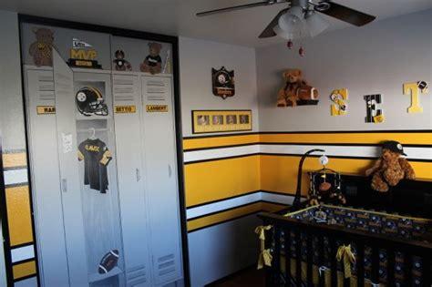 steelers bedroom ideas steeler football room love the locker lookin door