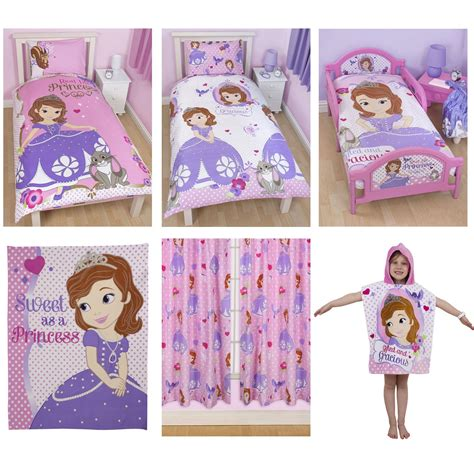 sofia the first bedroom furniture sofia the first reversible single duvet pillowcase bedding