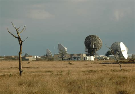 goonhilly satellite earth station  lizard cornwall