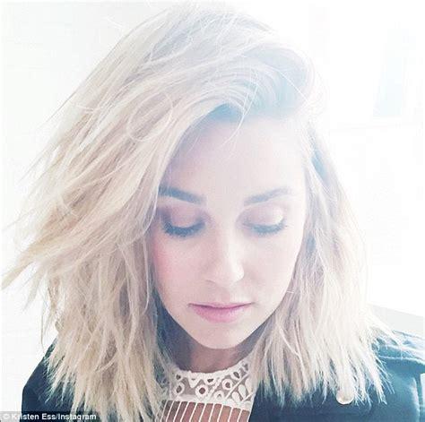 she cut her hair very short lauren conrad debuts even shorter hair as she gets her