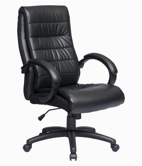order office chair adam high back office chair in black leatherette buy